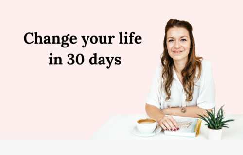 Change your life in 30 days Christine Muench Coaching