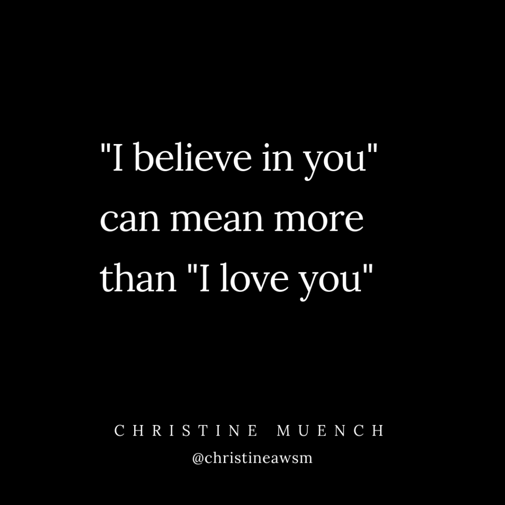 Relationship Advice Communication Christine Rincon Coaching Believe in your partner